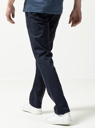 Tmavě modré chino kalhoty Selected Homme Three Paris