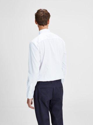 Biela formálna slim fit košeľa Jack & Jones Non