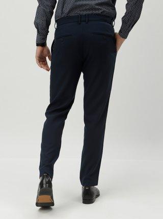Tmavomodré chino nohavice JUNK de LUXE