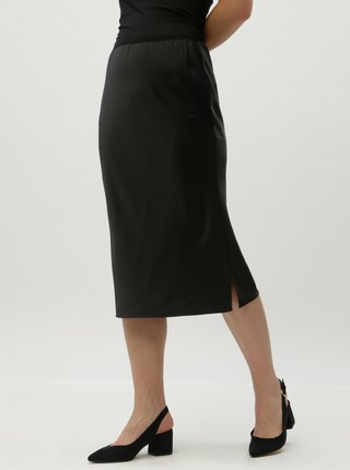 Čierna sukňa s gumou v páse AWARE by VERO MODA Ginger