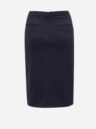 Tmavomodrá sukňa s vreckami GANT