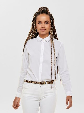 Biela košeľa Jacqueline de Yong Mio