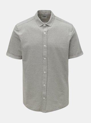 Sivá slim fit košeľa ONLY & SONS Cuton