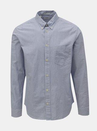 Svetlomodrá pruhovaná regular fit košeľa Selected Homme Landon
