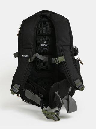 Čierny batoh s odnímateľným bedrovým popruhom NUGGET Arbiter 30 l