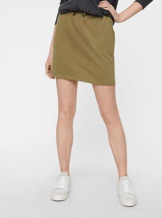 Khaki basic minisukně Noisy May Silla