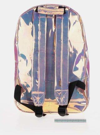 Ružový dámsky holografický batoh Spiral Holographic 18 l