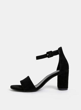 Čierne semišové sandálky Vagabond Penny