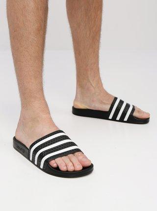 Černé pantofle adidas Originals Adilette