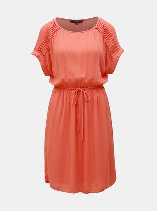 Oranžové šaty VERO MODA Monica