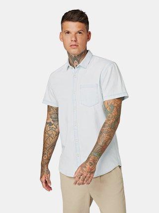 Svetlomodrá pánska rifľová košeľa Tom Tailor Denim