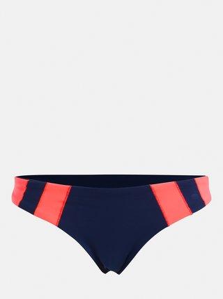 Růžovo-modrý dámský oboustranný spodní díl plavek Rip Curl