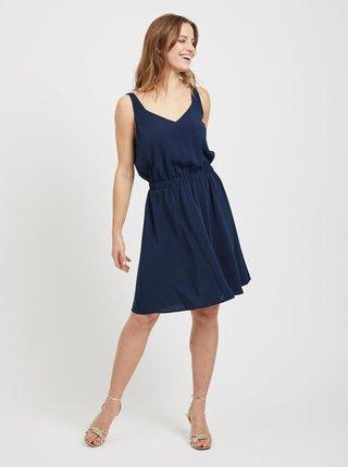 Tmavomodré šaty VILA Laia