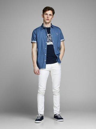 Modrá džínová košile s výšivkou Jack & Jones Surf