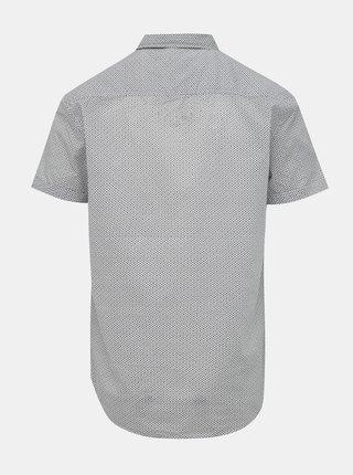 Bilela vzorovaná košeľa Blend