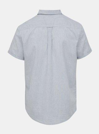 Modro-biela pruhovaná košeľa Blend