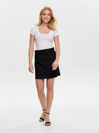 Čierna sukňa ONLY Sharon