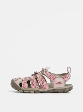 Růžové dámské sandály Keen Clearwater CNX