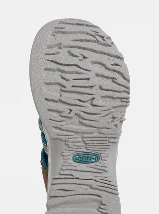 Hnědo-modré dámské sandály Keen Whisper