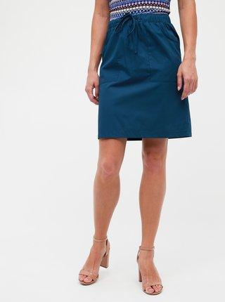 Petrolejová sukňa ZOOT Zoe