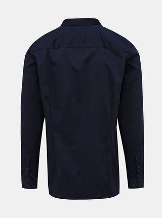 Tmavomodrá slim fit košeľa Jack & Jones Parma