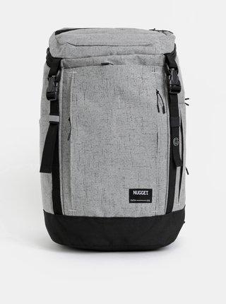Šedý žíhaný batoh NUGGET Mesmer 35 l