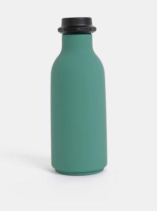Zelená fľaška na nápoj Design Letters To Go 500 ml