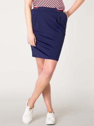 Tmavomodrá sukňa Yest
