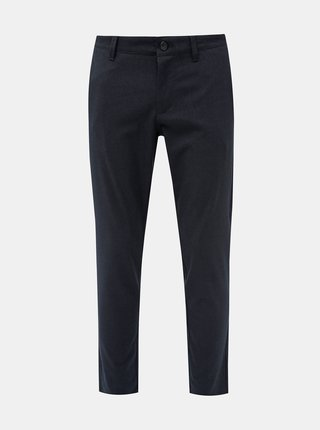 Tmavě modré kalhoty ONLY & SONS Mark