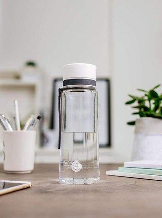 Plastová fľaša s biely uzáverom EQUA (600 ml)