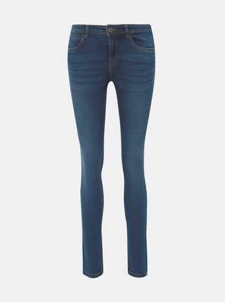 Tmavě modré slim fit džíny Noisy May Jen