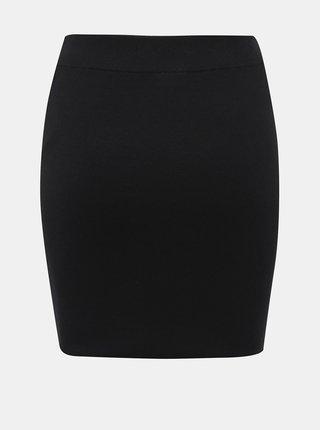 Čierna svetrová sukňa Noisy May Ship