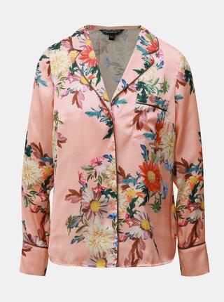 Meruňková květovaná halenka Dorothy Perkins