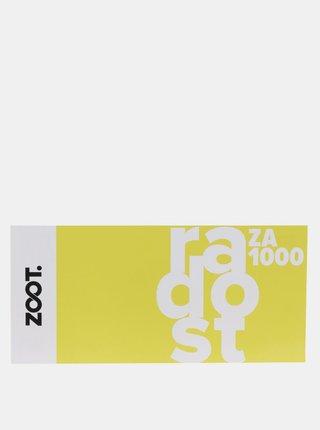 Dárkový poukaz na ZOOT v hodnotě 1 000 Kč