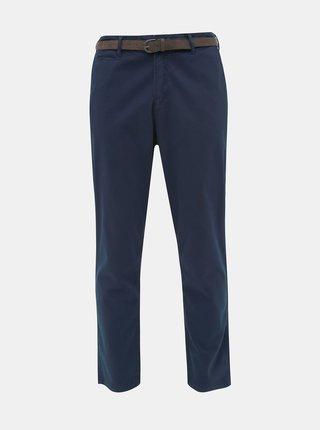 Tmavě modré chino kalhoty Jack & Jones Roy