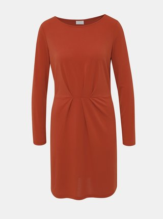 Cihlové šaty VILA Classy