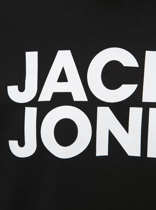 Čierna mikina Jack & Jones Corp