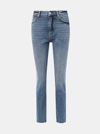 Modré slim fit džíny VERO MODA Selena