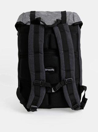 Tmavošedý batoh Meatfly Pioneer 4 26 l
