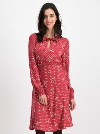 Červené puntíkované šaty Blutsgeschwister Greta