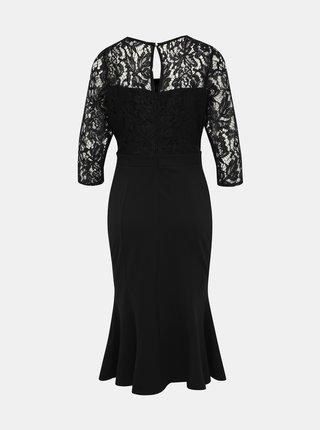 Černé šaty s krajkou Dorothy Perkins