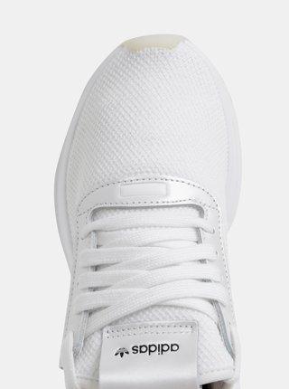 Bílé dámské tenisky s koženými detaily adidas Originals Path
