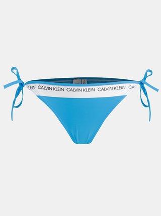 Modrý dámsky spodný diel plaviek Calvin Klein Underwear