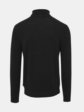 Čierny basic rolák Jack & Jones Emil