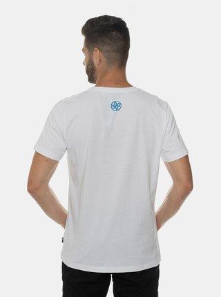 Biele pánske tričko s potlačou SAM 73