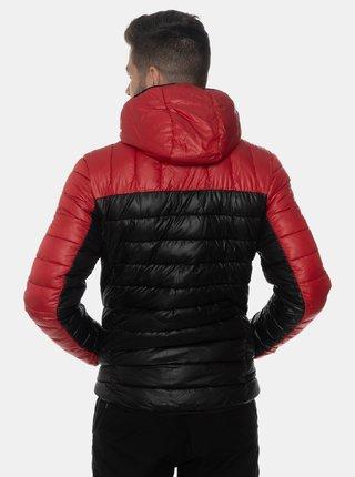 Černá pánská prošívaná zimní bunda SAM 73