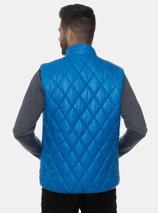 Modrá pánská prošívaná vesta SAM 73