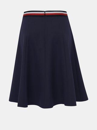 Tmavě modrá sukně Tommy Hilfiger Britt