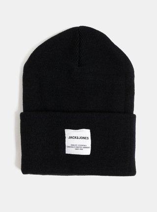 Čierna čapica Jack & Jones Clong