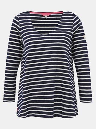 Tmavomodré pruhované tričko Tom Joule Harbour